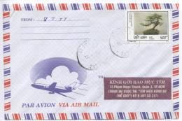 Vietnam Air Mail Cover 18-6-1998 Single Stamped - Vietnam