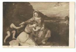 TITIAN - The Repose - The National Gallery, London - LL. 191 - Pittura & Quadri
