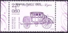 France N° 2578 ** Journée Du Timbre De 1989 - Diligence Paris-Lyon - Unused Stamps