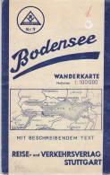 DEUTSCHLAND  --  BODENSEE - Topographische Karten