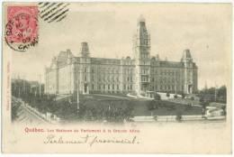 QUÉBEC - Les Batisses Du Parlement Et La Grande Allée  - J.P. Garneau, éditeur - Québec - La Cité
