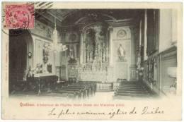 QUÉBEC - L'intérieur De L'église Notre-Dame Des Victoires  - J.P. Garneau, éditeur - Québec - La Cité