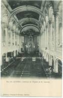 QUÉBEC - Intérieur De L'église De St.- Sauveur  - Pruneau & Kirouac, éditeur - Québec - La Cité