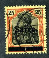 1863 )  SAAR 1920  Mi.#9a I PF/ A  Used - Saargebiet