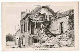 VERZY - Bombardement - Ruines De Maison - Rue Coutier-Maquerlot - Carte Vierge +++ - Verzy