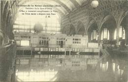 PARIS 7 - Intérieur De La Gare D´Orsay , L'eau A Recouvert..... - Crue De La Seine Janvier 1910     -- JH - Distretto: 07
