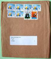 Brasil 2012 Cover To Nicaragua - Shoemaker - Shoe Maker - Postal Bag - Marketing Postal - Brazil