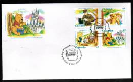 Canada,1996,  # 1621a,   OFDC,  WINNIE THE POOH.   Good Condition - Premiers Jours (FDC)