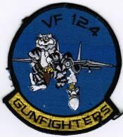 PATCH ECUSSON VF-124 GUNFIGHTERS - Aviation