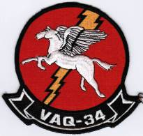 PATCH ECUSSON VAQ-34 - Aviazione