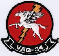 PATCH ECUSSON VAQ-34 - Aviación