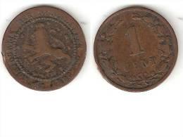 *netherlands 1 Cent 1898  Km 107   Fr+ - [ 3] 1815-… : Koninkrijk Der Nederlanden
