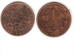 Netherlands 1 Cent 1913  Km 152   Vf - [ 3] 1815-…: Königreich Der Niederlande