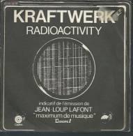 """45 Tours SP -  KRAFTWERK  - CAPITOL 82119  """" RADIOACTIVITY """" + 1 - Vinyl-Schallplatten"""