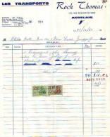 Auvelais - 1969 - Roch Thomas - Les Transports - Transport