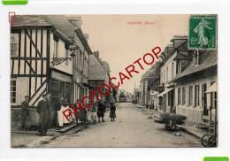 LIEUREY-Boucherie-A.DOISN EL-VIGNETTE-Association Internationale Des CARTOPHILES-GLOBE-GLOBUS- Animation-Commerce-Metier - France