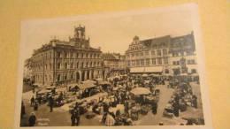 """AK Weimar Markt Vom 11.5.1950 Mit Sonderstempel: """"700 Jahre Weimar 1250 - 1950"""" - Weimar"""