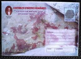 ROUMANIE, ENTIER Postal LETTRE (Cod 171/99) - Expédition Antarctique BELGICA 1897-1899 (N°4) - Philatélie Polaire