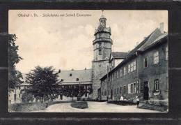 34680    Germania,    Ohrdruf I. Th. -  Schossplatz  Mit  Schloss  Ehrenstein,  VGSB  1918 - Gotha
