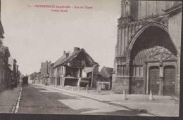 POPERINGHE Poperinge. Bombardée Rue De Cassel Street. Edit. Flandria Biebuyck Hazebrouck - Poperinge