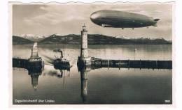 D3491   LINDAU : Zeppelinluftschiff (Graf  Zeppelin ) - Lindau A. Bodensee