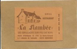 44  HERBIGNAC   LA  FLAMBEE  GRILL  RESTAURANT  ROUTE  D  HERBIGNAC  Tel (40) 45 84 54 - Herbignac