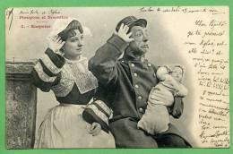 BERGERET - Pioupiou Et Nourrice - Surprise - Bergeret