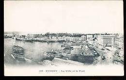 AUSTRALIE SYDNEY / La Ville Et Le Port / - Sydney