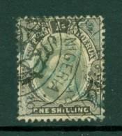 Southern Nigeria: 1904/09   Edward     SG28     1/-     Used - Nigeria (...-1960)