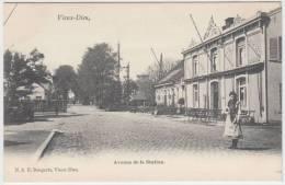 16671g PASSAGE à NIVEAU - Avenue De La STATION - CAFE - Vieux-Dieu - Mortsel