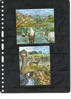 TOGO, 2011, AFRICAN FAUNA, EAGLES, HYEANAS, BIRDS, ELEPHANTS,GIRAFFES, SHEETLET+S/SHEET - Eagles & Birds Of Prey