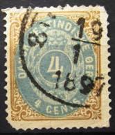 ANTILLES DANOISES         N° 7          OBLITERE       2° CHOIX - Danemark (Antilles)