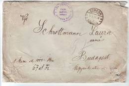 Yugoslavia,30.III.1926 Sombor,Money Letter To Budapest - 1919-1929 Königreich Der Serben, Kroaten & Slowenen