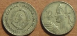 1955 - Yougoslavie - Yugoslavia - 10 DINARA - KM 33 - Jugoslavia