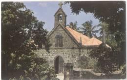 CP WEST INDIES - NEVIS - THE HISTORICAL FIG TREE CHURCH - Saint-Christophe-et-Niévès