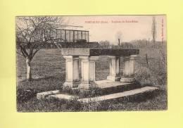 CPA..dépt 27..PORT - MORT  : Tombeau De St Edbin  -  2 Scans - France