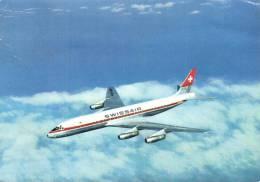 """63614 - Aviation     Avion """"Douglas DC 8   De La Compagnie   Swissair - 1946-....: Moderne"""