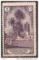 MA106-LA909TVA.Maroc.Marocco  MARRUECOS ESPAÑOL PAISAJES Y MONUMENTOS 1928  (Ed 106**) Sin Charnela LUJO RARO - Árboles