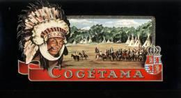 Pub. Reclame Tabak - Tabac Sigaren Cogetama - Indiaan - Publicités