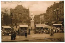 Bruxelles, Brussel, Place Anneessens, Marché, Markt (pk6664) - Markten