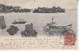 ( Lago Maggiore ) - Isola S. Giovanni - PALLANZA  ( Bateau ) - Verbania