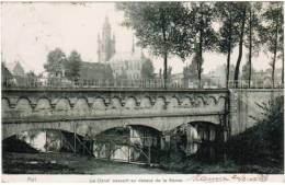 Halle, Hal, Le Canal Passant Au Dessus De La Senne (pk6672) - Halle