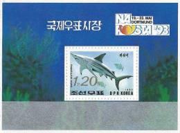 COREE DU NORD   Faune Marine Requin   BF 123** - Pesci