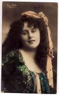 PHOTOGRAPHS WOMAN RETA WALTER MIGNON GLC Nr. 1139/4 OLD POSTCARD 1907. - Photographs