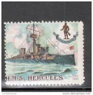 VIGNETTE MILITAIRE : HMS. HERCULES - Erinnophilie