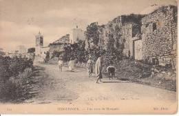 TEBOURSOUK VUE VERS LA MOSQUEE - Tunisie
