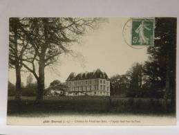 CPA 44 Loire Atlantique - DERVAL - 4806 - Château Du Fond Des Bois, Façade Sud Vue Du Parc - Derval