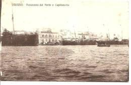 BRINDISI ,PANORAMA DEL PORTO E CAPITANERIA ET SES BATEAUX REF 30803 - Brindisi