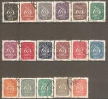 PORTUGAL-1943,  Caravela.  ( Série,17 Valores, COMPLETA )    (o)  Afinsa  Nº 617/633 - 1910-... République