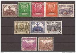 ES620-L3691TOISC. España Spain Espagne.CONGRESO UNION POSTAL PANAMERICANA OFICIAL .1931.(Ed 620/9**)sin Charnela .LUJO - Organizaciones